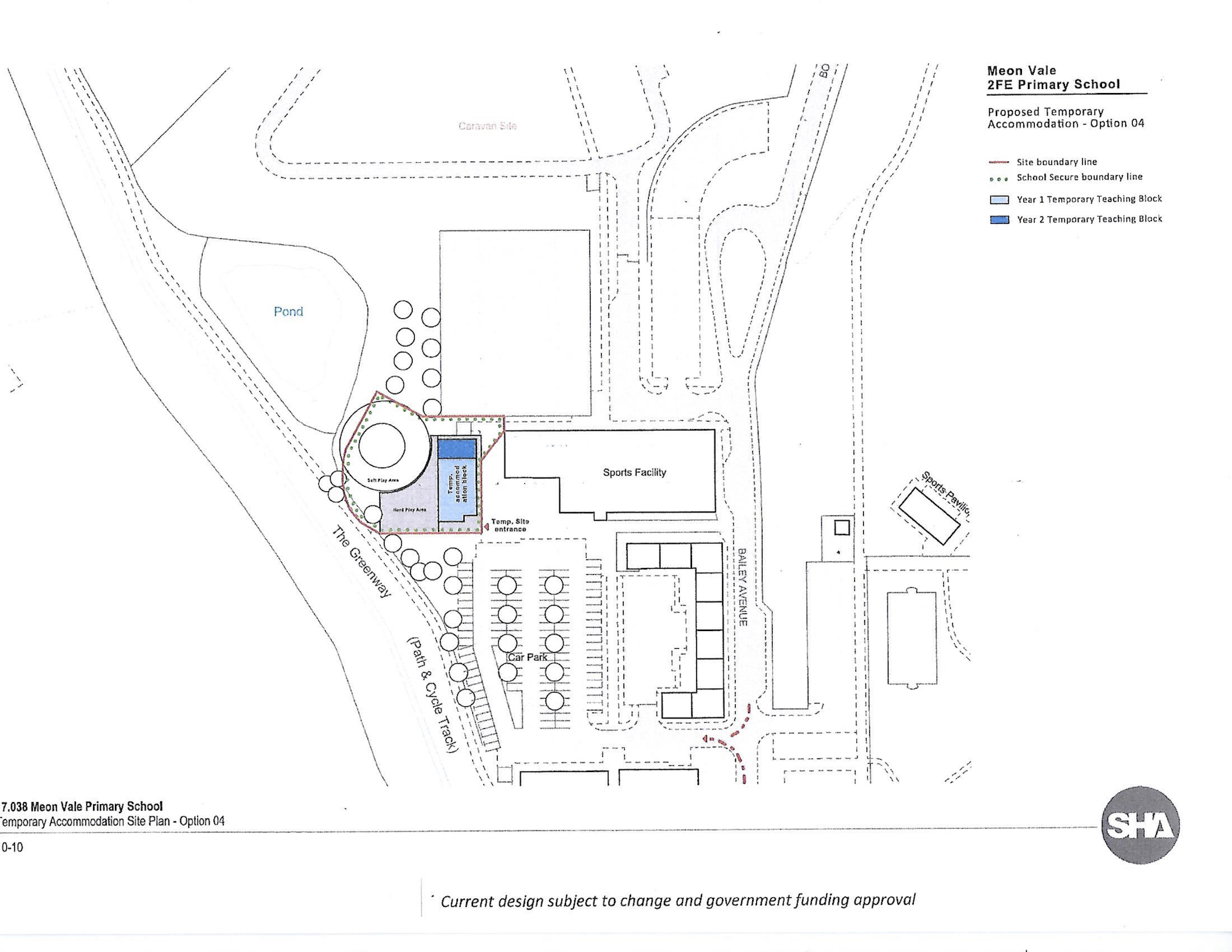 Proposed Temporary Accommodation Plan